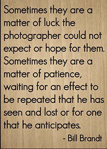 a matter of luck the...