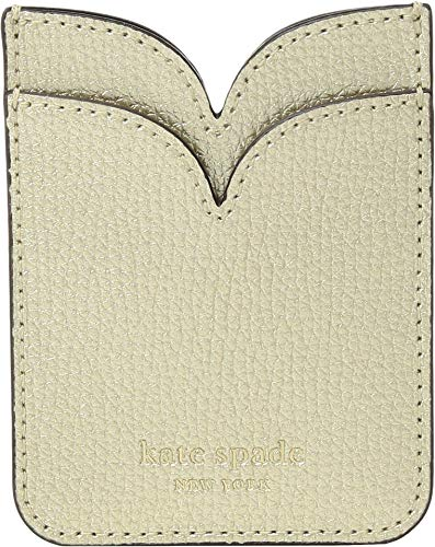 Kate Spade New York Sylvia Double Sticker Pocket, Pale Gold, One Size