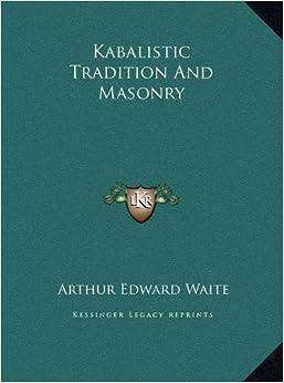 Book Kabalistic Tradition and Masonry