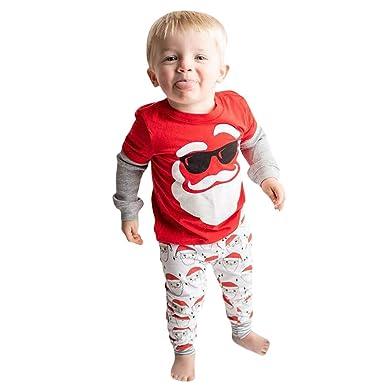 HALILUYA Disfraz Navidad Bebe Niña Conjunto de Pantalones de ...