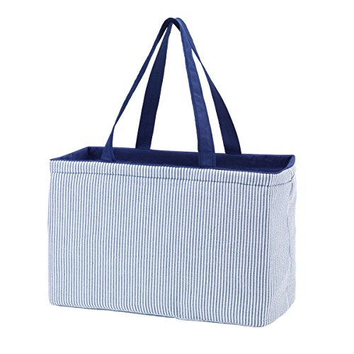 Ultimate Totes M630 (Navy Seersucker) (Tote Ultimate)