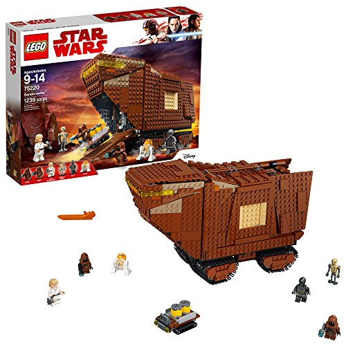 LEGO Star Wars: A New Hope Sandcrawler 75220 Building Kit (1239 Pieces)