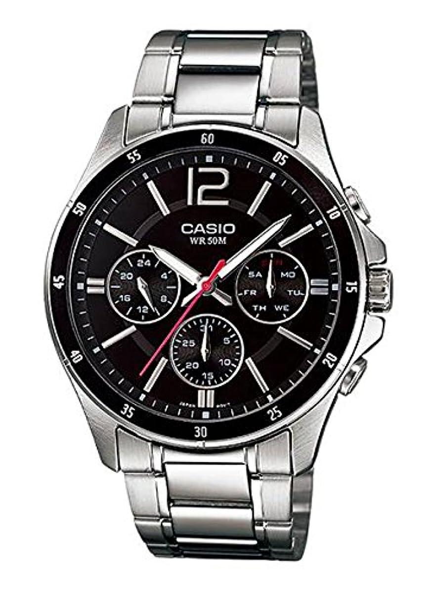 [해외] 【병행수입품】카시오 CASIO 손목시계 시계 STANDARD 스탠다드 아날로그 맨즈 MTP-1374D-1A