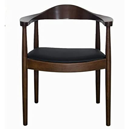 19c3939dc3dc Amazon.com - KXBYMX Nordic Solid Wood Dining Chair