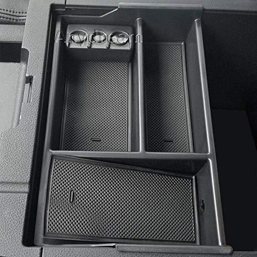 Anydream Center Console Organizer Tray for Toyota Tundra Accessories(2007-2018)/Toyota Sequoia (2008-18)
