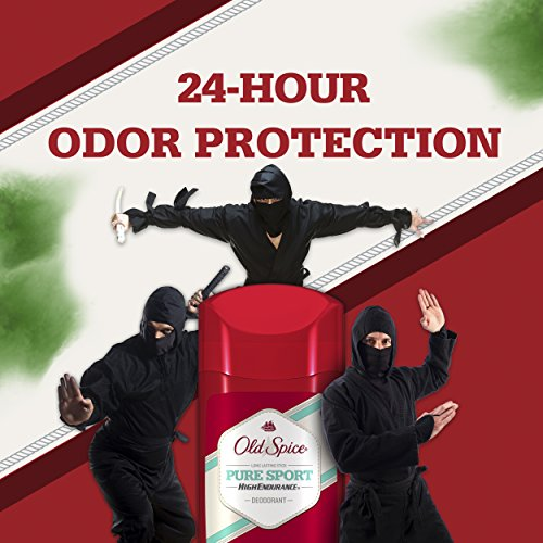 سعر Old Spice Deodorant for Men, Pure Sport Scent, High Endurance, 3.0 oz (Pack of 3)
