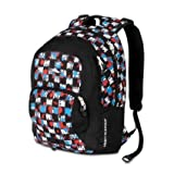 High Sierra 2228-Cubic Inches Sheridan Daypack (Grunge Checker, Black), Outdoor Stuffs
