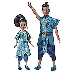 Raya and The Last Dragon Young Raya and Chief Benja Exclusive Figure