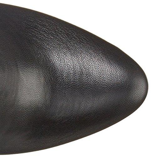 BCBGeneration imitación de cuero de arranque Beasly Black