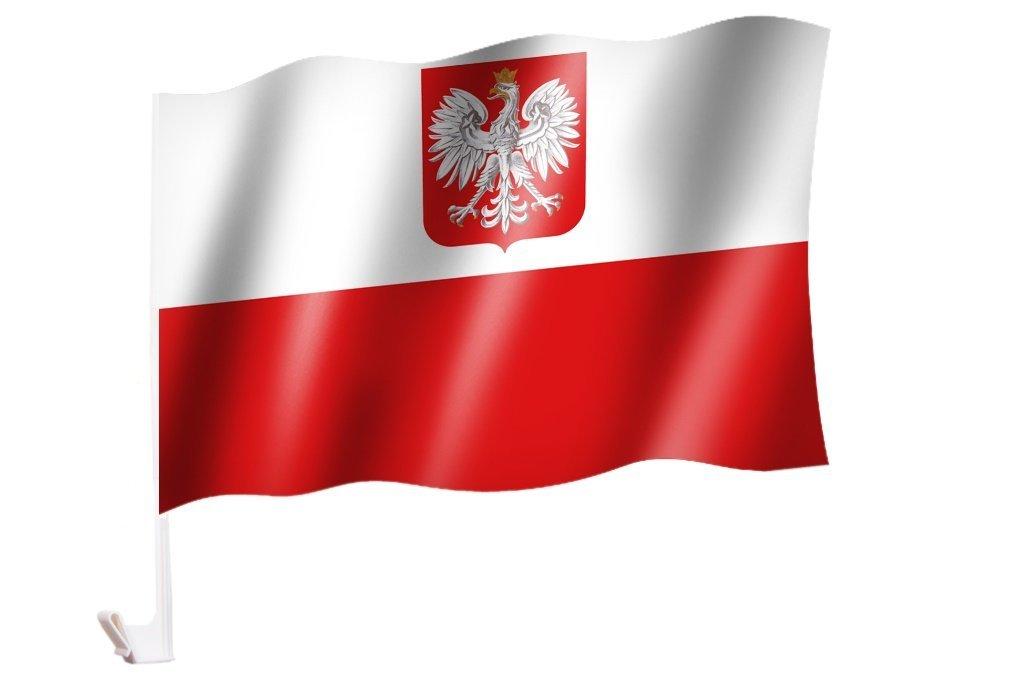 Flaggenfritze Autofahne Autoflagge Deutschland Niedersachsen 30 x 40 cm