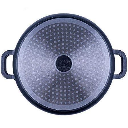 Stylen Cook Aluguss Topfset Nero Classico Starter 4tlg.