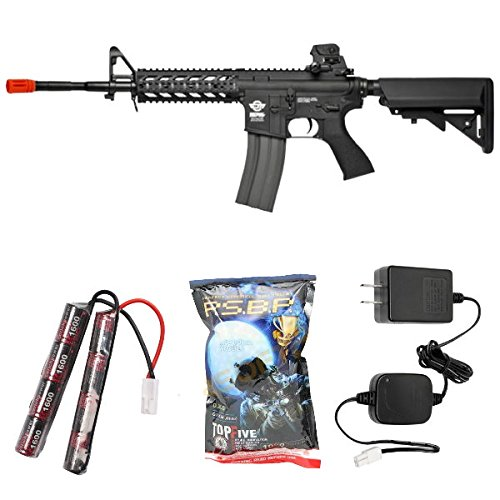 g&g combat machine 16 raider-l battery & charger combo(Airsoft Gun) (Gun Machine Paintball Heavy)