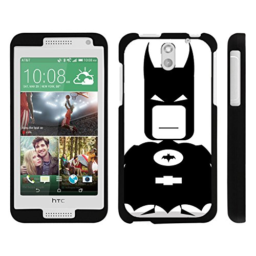 HTC Desire 610 Phone Case, Perfect Fit Snap on Cell Phone Case Superhero Design Series for HTC Desire 610 and 612 by Miniturtle® - Bat Boy Man - Htc Desire 610 Super Hero Case