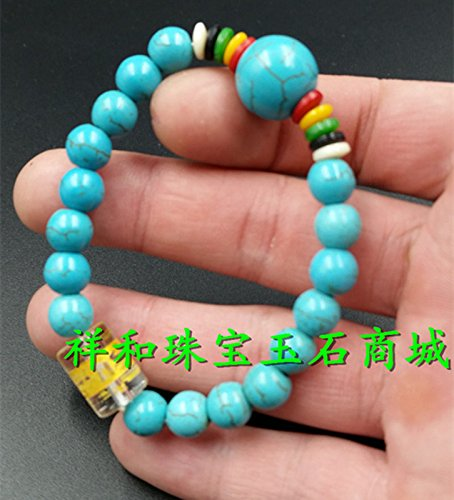 Manufacturers wholesale natural jade turquoise bead bracelet wholesale mantra bracelet male and female models bracelets wholesale
