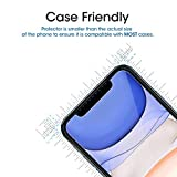 amFilm Glass Screen Protector for iPhone 11
