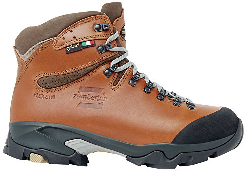 Image of Zamberlan - 1996 VIOZ Lux GTX rr - Leather Backcountry Boots - Waxed Brick - 8.5