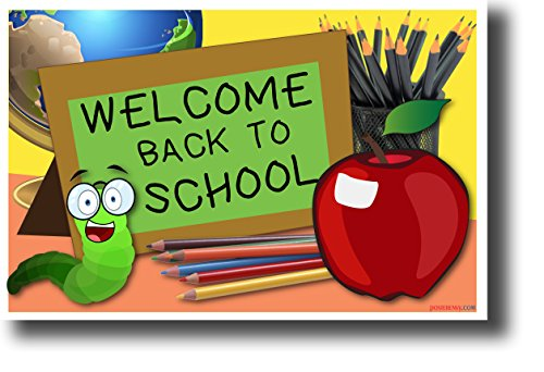 Welcome Back to School - NEW Classroom Poster