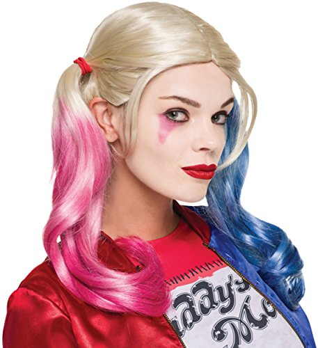 Full Harley Quinn Costumes (Rubie's Costume Co. Women's Suicide Squad Harley Make-up Kit, As Shown, One)