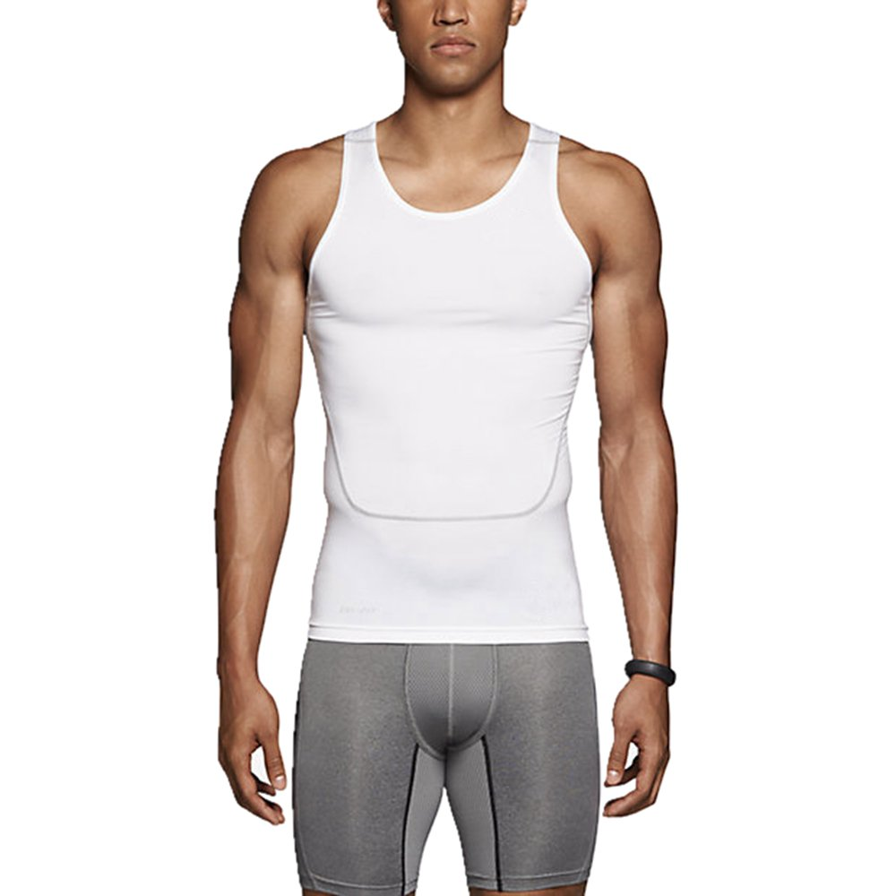 SANKE Men Athletic Compression Sleeveless Shirt Quick Dry Breathable Tight Top