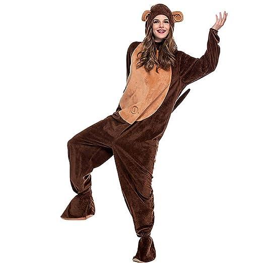 JJAIR Traje Adulto Mono Onesie Animal, Pijamas Unisex del Mono de ...
