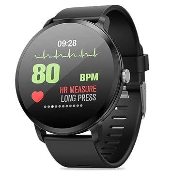 TEEPAO Reloj Inteligente V11 Fitness Tracker, Pantalla táctil de 1,3 Pulgadas IP67 Impermeable