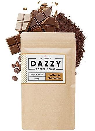 Dazzy Coffee Scrub–Body peelings con himmlischen sabor direcciones para cara y cuerpo IVY GmbH Official