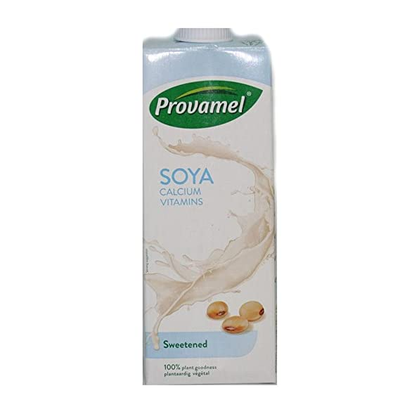 Provamel | Soya Milk - Sweetened | 8 x 1L