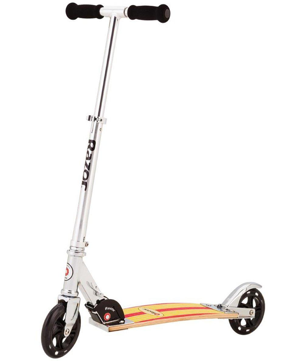 Razor Cruiser Scooter - Yellow/Red Wood Deck