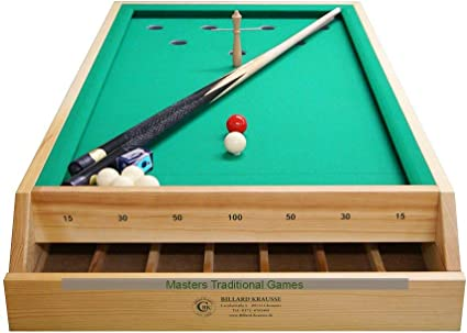 Masters Traditional Games Table-Top Bar Billiards Table (4 Foot): Amazon.es: Juguetes y juegos