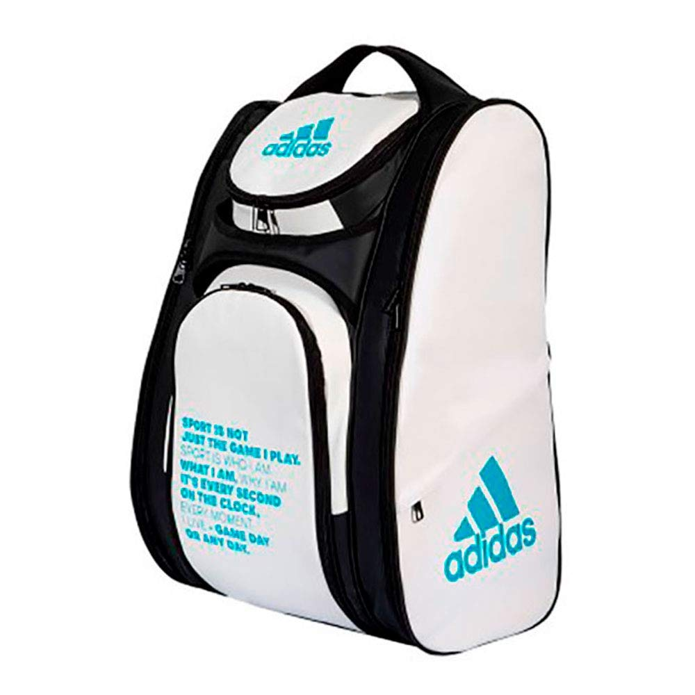 adidas PALETERO MULTIGAME Blanco Azul: Amazon.es: Deportes y aire ...