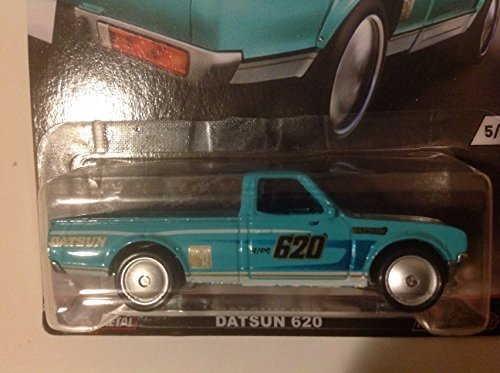 Datsun Truck (Hot Wheels Car Culture Trucks Datsun 620 Pickup 5/5, Teal)