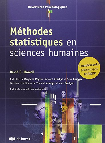 B.E.S.T méthodes statistiques en sciences humaines (2e édition) P.P.T