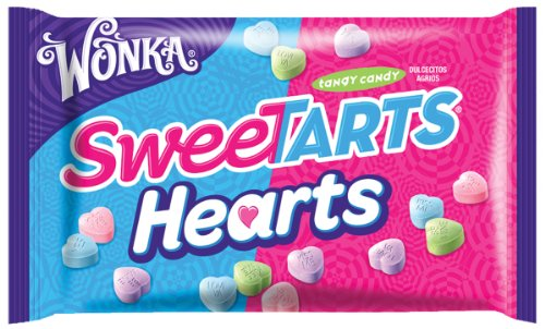 Wonka Sweetarts Valentine's Hearts, 14-Ounce Bags (Pack of 6) (Sweet Heart Sweets)