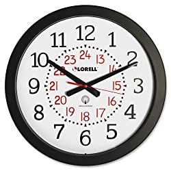 Lorell Radio Controlled Wall Clock - Quartz