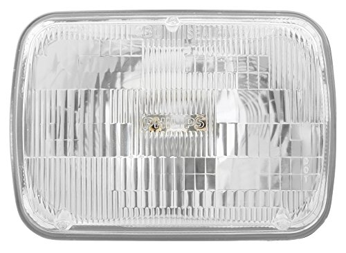 Philips H6054C1 Standard Halogen Sealed Beam headlamp, 1 Pack (Pickup Headlight Headlamp F250)