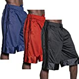 KS Mens Heavyweight Mesh Shorts Athletic Fitness Gym Sports Workout S-5XL