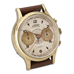 Uttermost Wristwatch Alarm Round Aureole 2 x 3.25 x 4.5, Brass