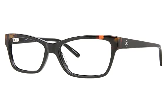 Amazon.com: Ann Taylor AT315 Eyeglass Frames - Frame BLACK TORTIOSE ...