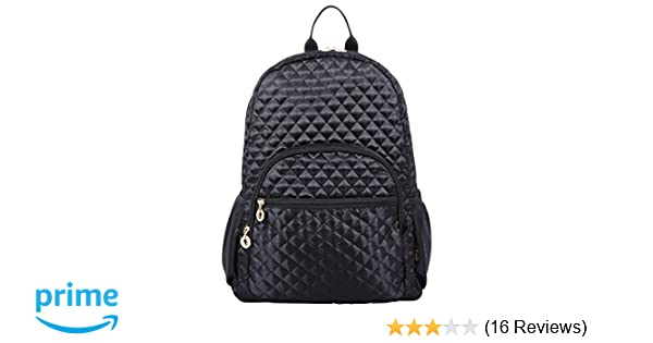 Amazon.com  Quilted Laptop Backpack 15