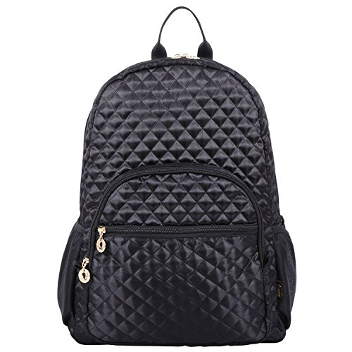 Quilted Laptop Backpack 15