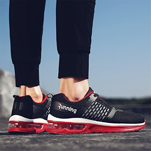 Red Air Cushion Womens TORISKY Mens Sport Running Shoes Sneakers Outdoor Jogging cUTTfvOn