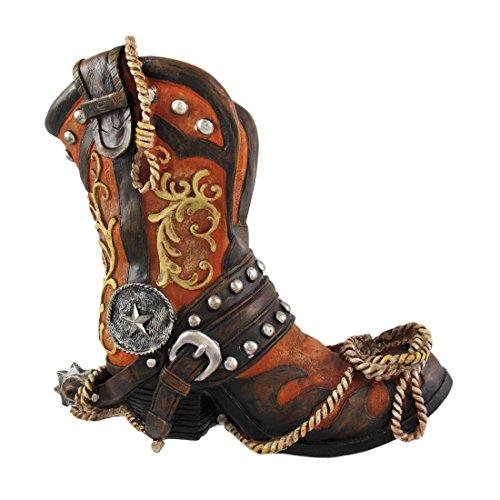 DWK Corporation DWKHC31925 Cowboy Boot Wine Holder (Set of 1)