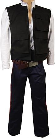 RedJade ANH A New Hope Han Solo Traje de Cosplay Disfraz ...