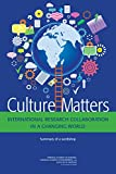 img - for Culture Matters: International Research Collaboration in a Changing World: Summary of a Workshop book / textbook / text book