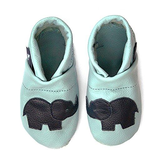 Pantoffeln Schlappen 45 Patschen Mit Chaussons Femme 36 Hauschuhe Puschen Pantau Hellblau Elefant Schluffen Pour Leder eu Lederpuschen blau Größen 8AwWq4X