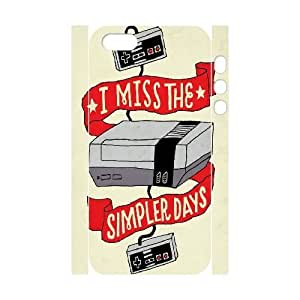 3D interesting Design] I Miss the Simpler Days For Iphone 5C Phone Case Cover Girl Design For Men {White}