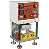 Dabpress dp80 Pneumatic Rosin Press with Dual Heating Plates, Achieves Max 1,200 pounds Pressure of Force, Solventless Oil Extractor