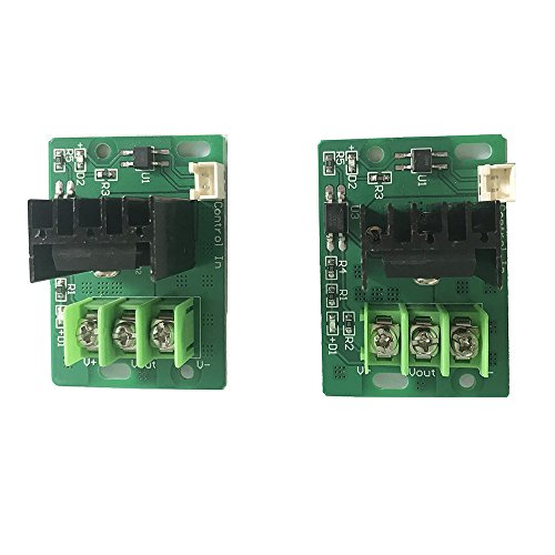 Creality 3D Printer Heat Bed Mosfet Tube Hot Bed Power Module Expansion for 3D Printer Heating Bed Accessories(Pack of 2)
