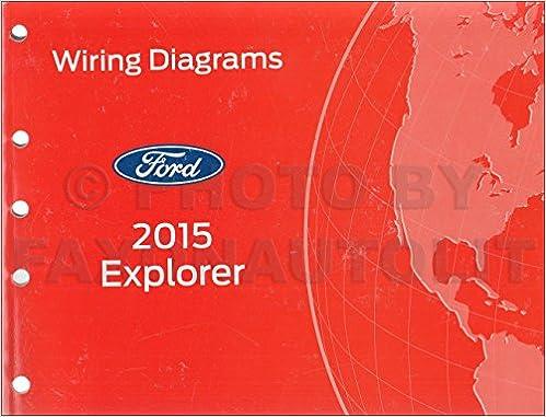 2015 ford explorer wiring diagram manual original: ford: amazon com: books