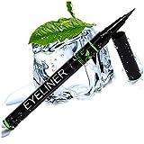 Eyeliner Liquid Pen with Castor Oil for Eyelash Growth - Waterproof Eyeliner Tip